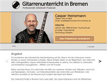 Tablet Preview of gitarrenunterricht-in-bremen.net