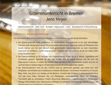 Tablet Preview of gitarrenunterricht-in-bremen.org